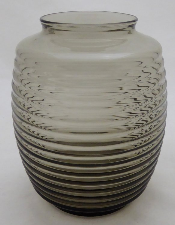 A.D. COPIER LEERDAM RIBBLE VASE FUMI COLORED