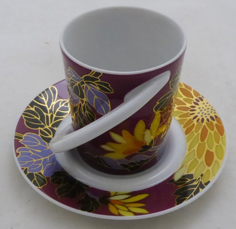 ROSENTHAL ESPRESSO CUP AND SAUCER