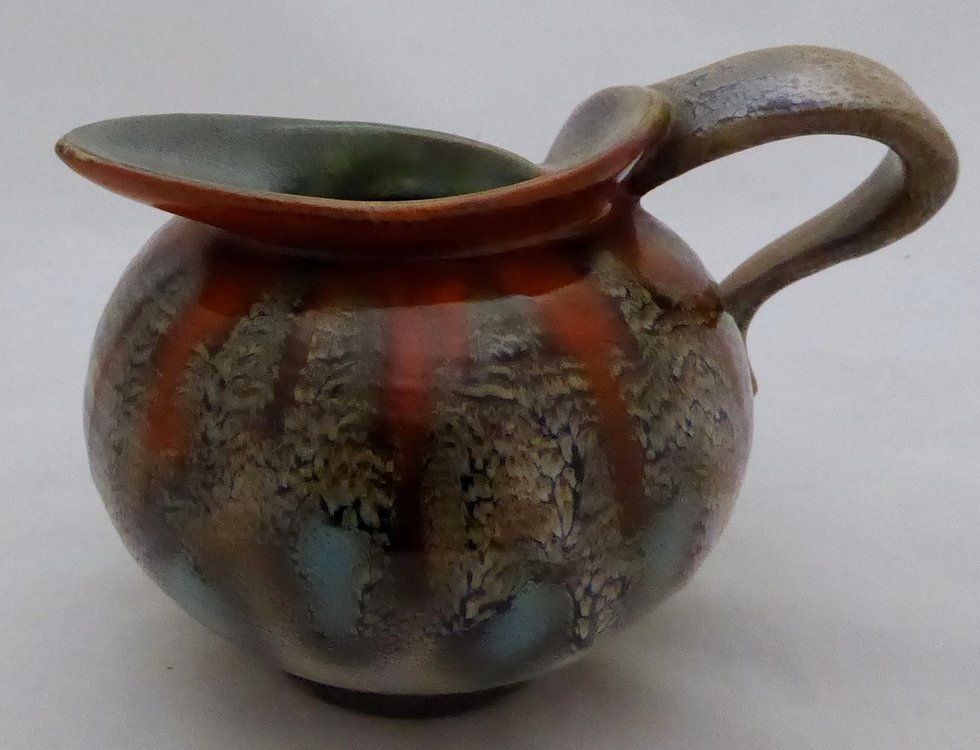 GOUDA SPRAY GLAZE JUG
