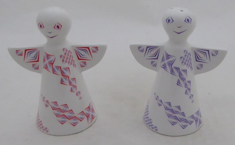 RITZENHOFF SALT AND PEPPER SHAKER