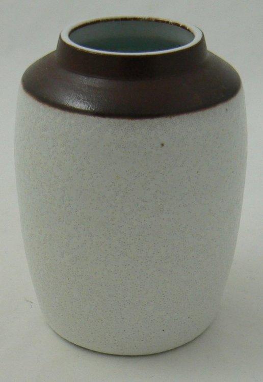 RAVELLI VASE WHITE-BROWN