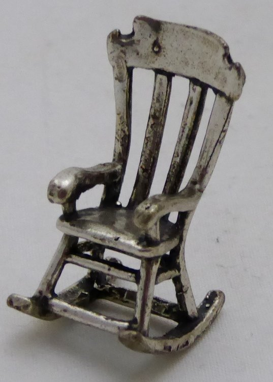 SILVER MINIATURE CHAIR