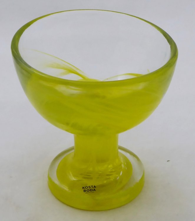 KOSTA BODA GLASS MINE DESSERT CUP