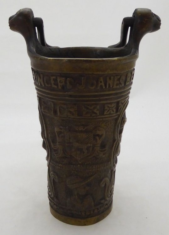 BRONZE HOLY WATER BUCKET