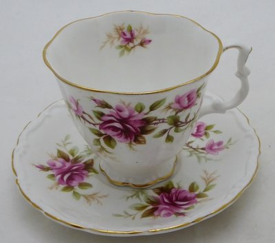 ROYAL ALBERT ROMANCE CUP AND SAUCER