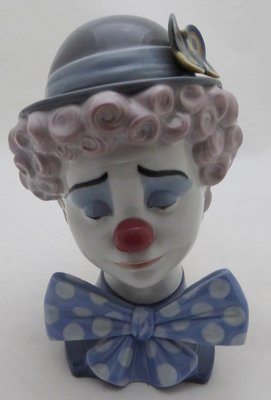 LLADRO CLOWN HEAD 5611