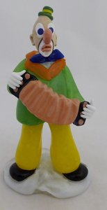 ZELEZNY BROD BOHEMIA GLASS CLOWN