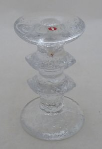 IITTALA FESTIVO TWO RING CANDLESTICK